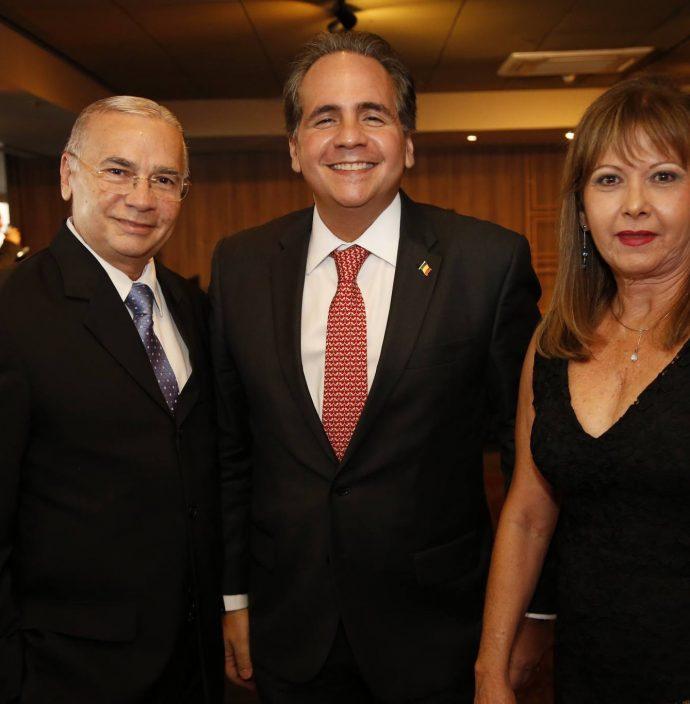 Carlos Paiva, Ricardo Bacelar E Lajana Paiva