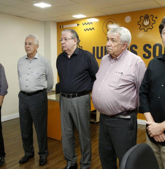 Carlos Prado, Dana Nunes, Ricardo Cavalcante, Roberto Macedo E Edgar Gadelha