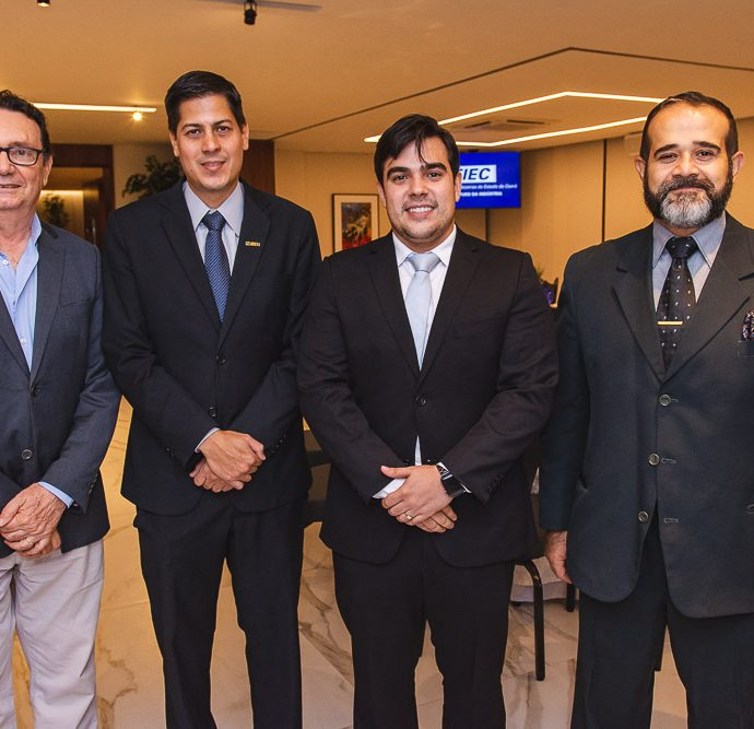 Carlos Rubens, Daniel Furlani, Thiago Pinho E Fernando Arzua