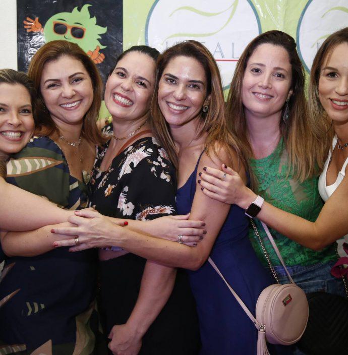 Carol Maia, Vladia Mamede, Ana Paraiso, Arci Brandao, Melissa Rizzato E Karina Cabral
