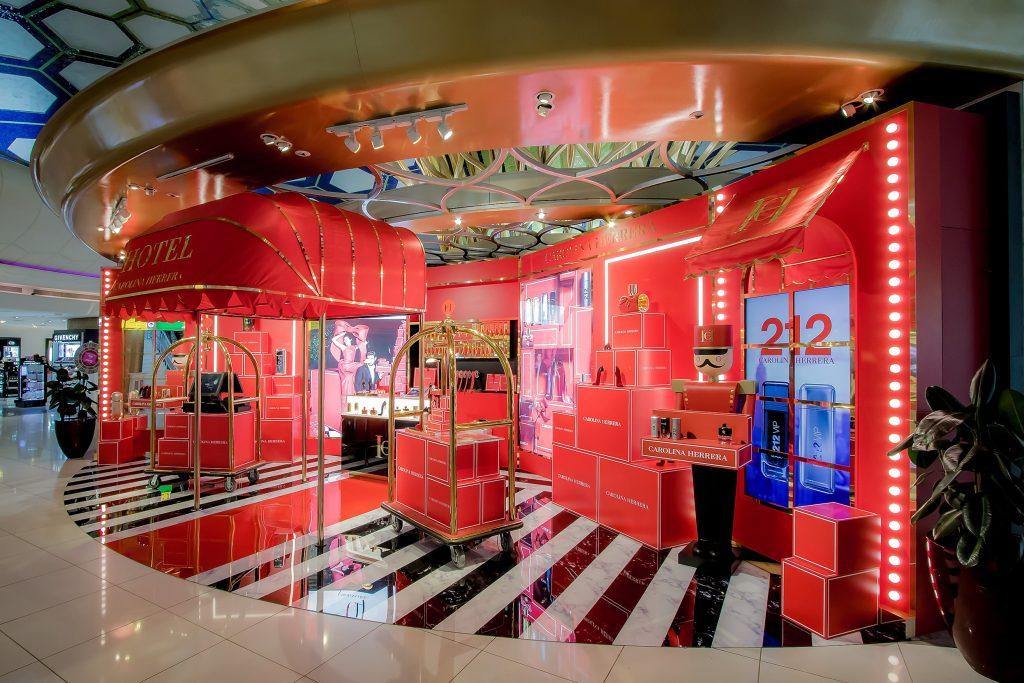 Grife internacional Hotel Carolina Herrera ganha pop store no Shopping RioMar