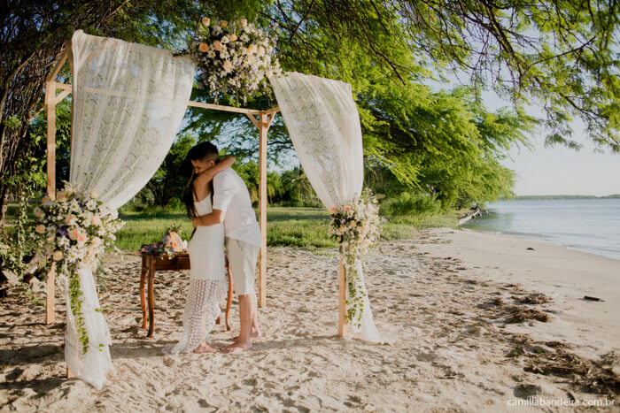 Projeto traz noivos para casar no Ceará