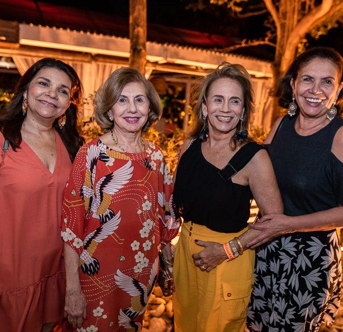 Celina Castro Alves, Zelma Camara, Claudia Cavalcante E Ana Daurea Chaves