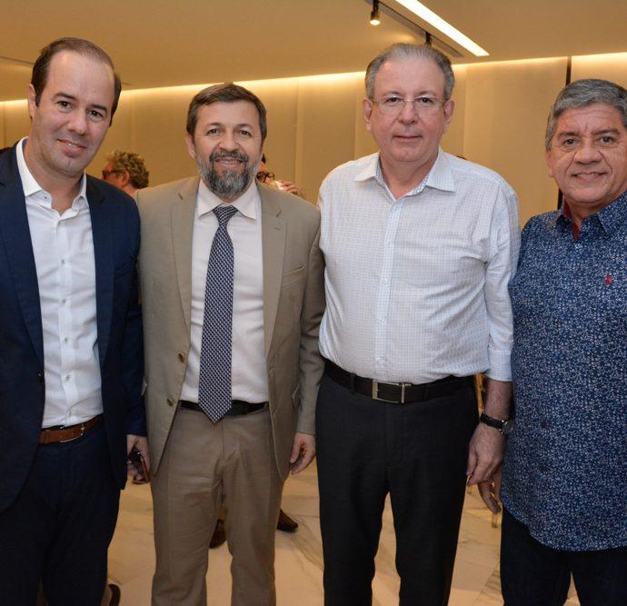 Cesar Ribeiro, Elcio Batista, Ricardo Cavalcante E Sampaio Filho