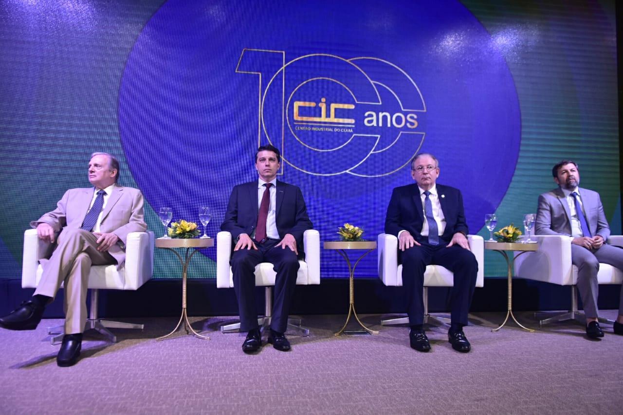 CIC celebra 100 anos de fundação na sede da Fiec