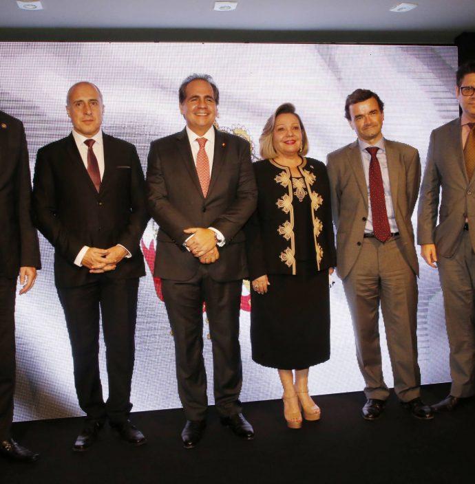 Cid Marconi, Jean Paul Charlier, Ricardo Bacelar, Fernanda Hensen, Patrick Herman E Leonardo Carvalho