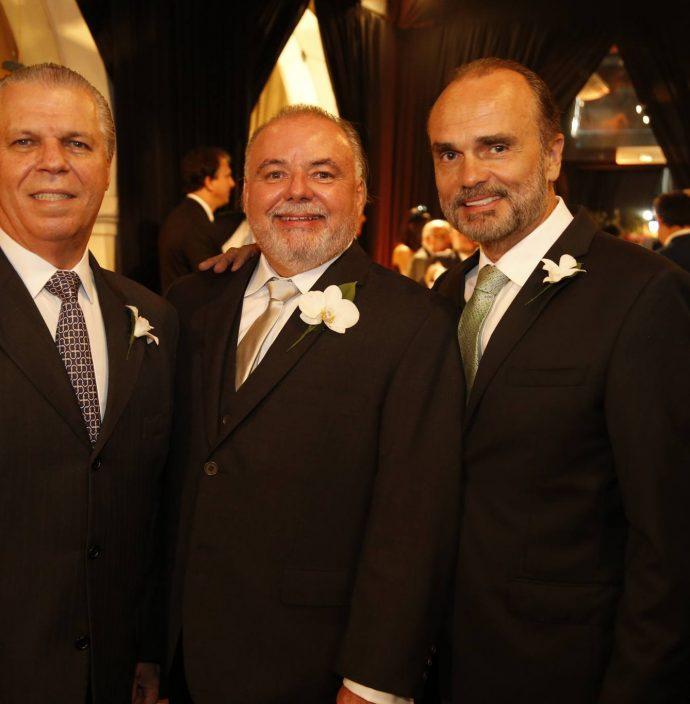 Claudio Studart, Pedro Carapeba E Reinaldo Varela