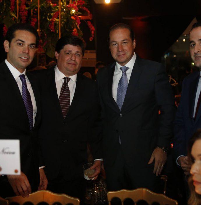 Claudio Vale, George Lima, Joaquim Araujo E Leonardo Carneiro