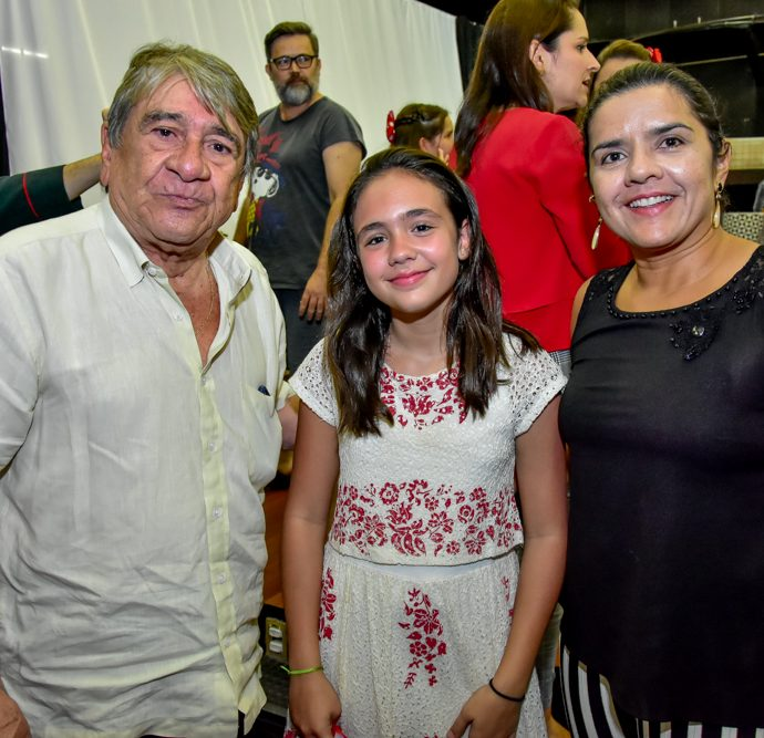 Cleiton Marinho, Maria Bacelar E Ariadine Marinho
