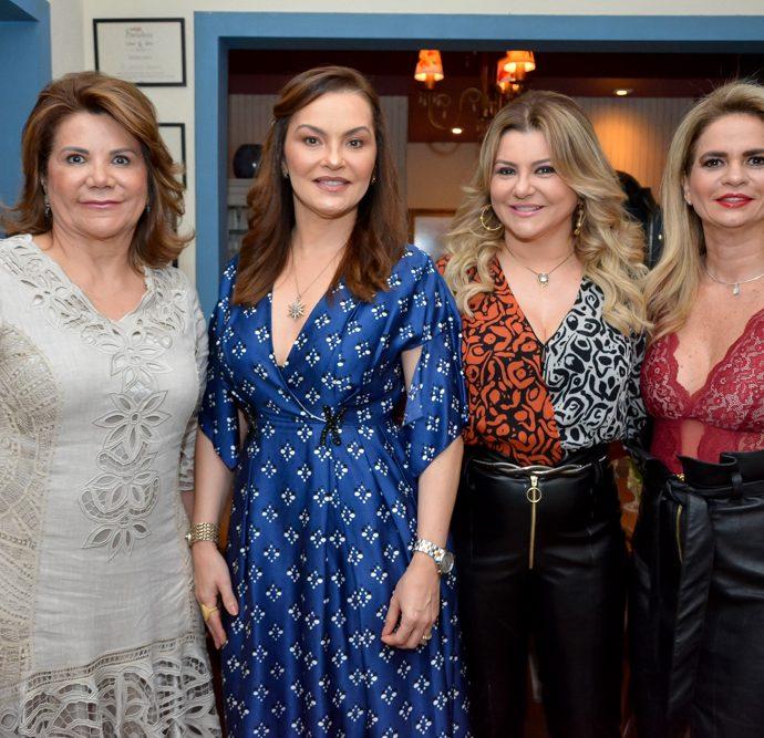Conceição Pinto, Lucia Praciano, Silvana Guimarães E Germana Cavalcante