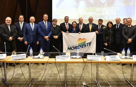Camilo participa da missão do Consórcio Nordeste à Europa