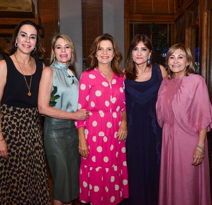 Cristine Ary, Bel Machado, Geni Correia Lima, Pretinha Rolim E Rose Franck