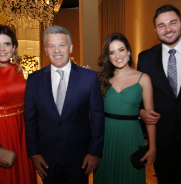 Crsitine, Ferruccio E Amanda Feitosa E Rafael Rigueira