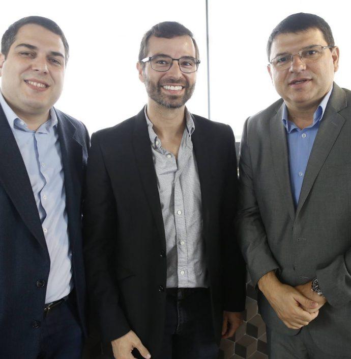 Darlan Moreira, Tomaz Figueiredo E Sergio Lopes