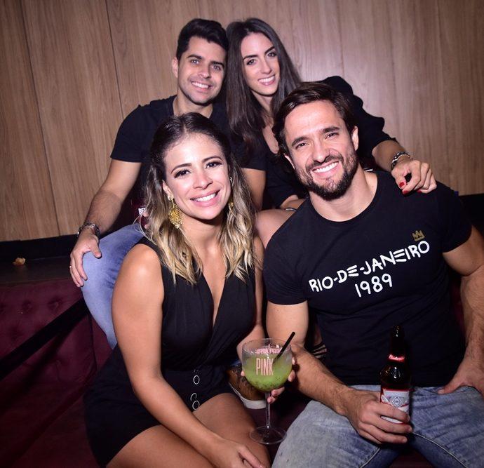 Debora Farias, Fenando Peres, Renan Mesquita, Fernanda Castelo