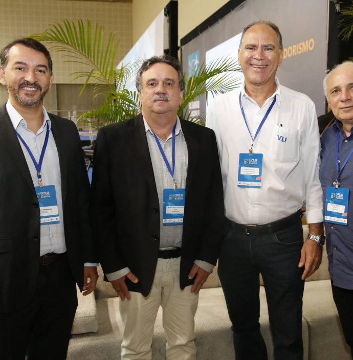 Denilson Fernandes, Mario Jorge Cavalcanti, Narcelio Uchoa E Ricardo Sabadia