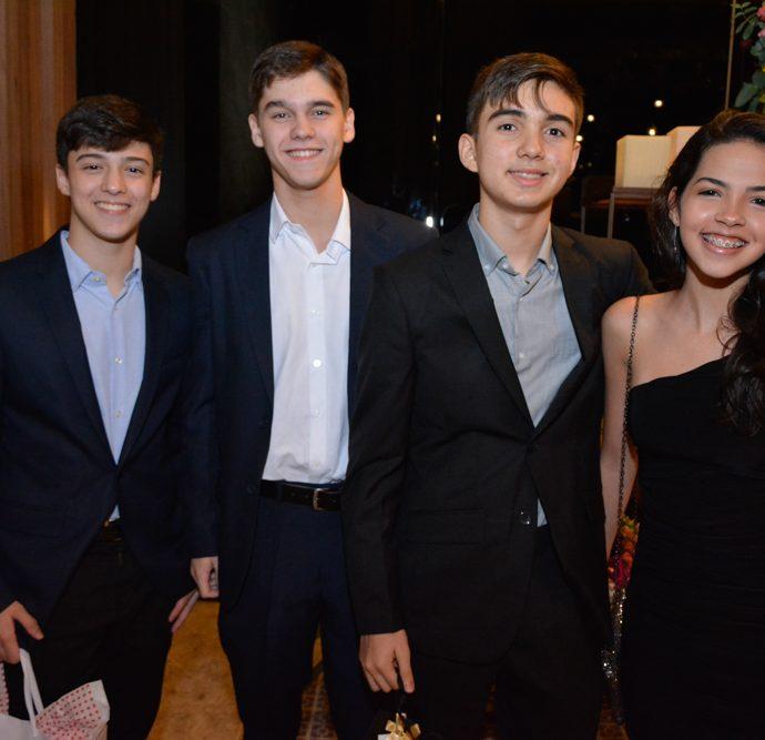 Diego Viana, Bruno Rios, Pedro Capelo E Alice Vieira