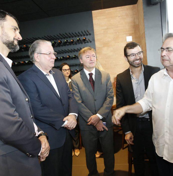 Dimas Barreira, Ricardo Cavalcante, Mauricio Filizola, Tomaz Figueiredo E Leonidas Cristino