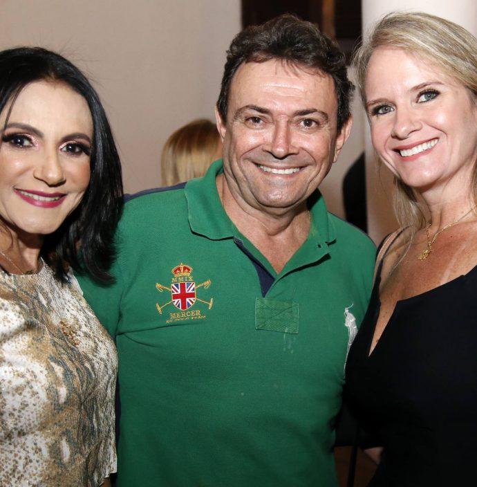 Dioneide Barbalho, Marcos Chaves E Cintia Maia