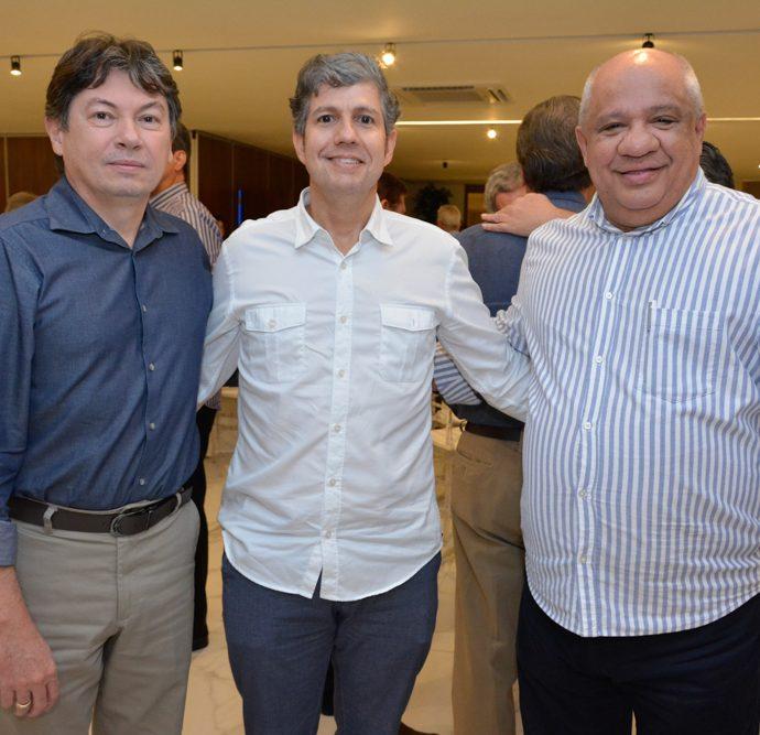 Edgar Gadalha, Ricardo Albuquerque E Pedro Alfredo