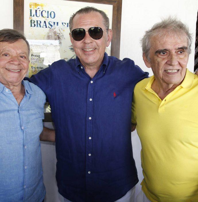 Edilmo Cunha, Dao Cabral E Lucio Brasileiro