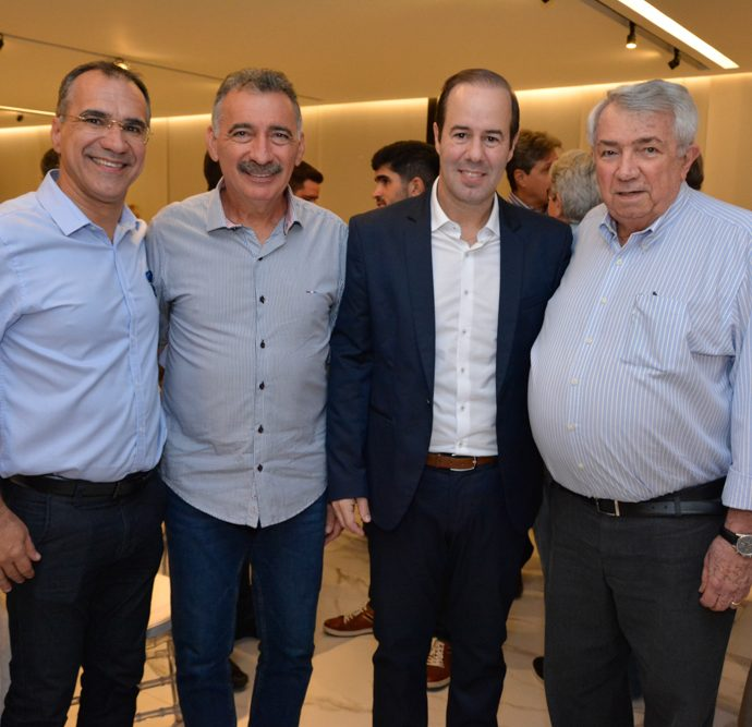 Eduardo Neves, Arthur Bruno, Cesar Ribeiro E Roberto Macedo
