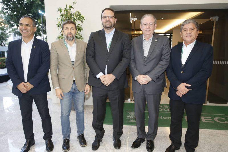 Eduardo Neves, Elcio Batista, Nelson Barbosa, Ricardo Cavalcante E Sampaio Filho