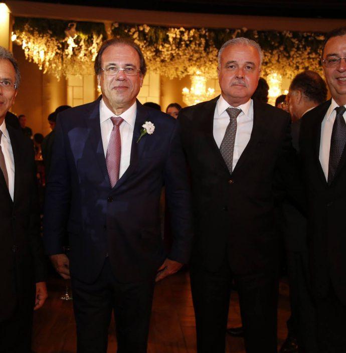 Eduardo Rolim, Claudio Brasil, Guilherme Aguiar E Aristenio Canamary