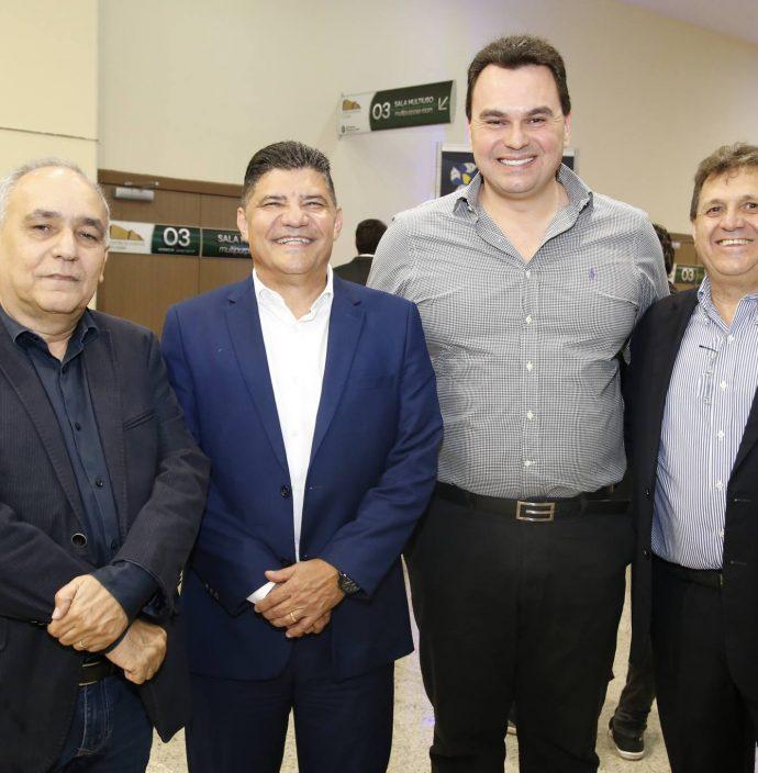 Eduardo Sabois, Girao Pitombeira, Regis Tavares E Carlos Albert