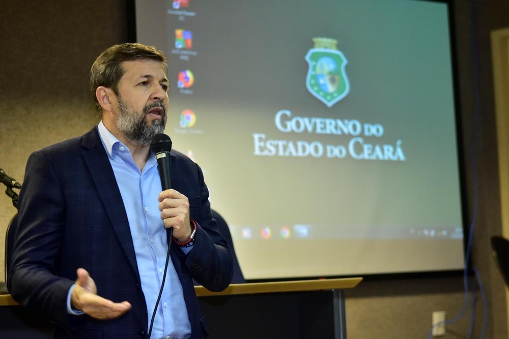 Élcio Batista apresenta a Nova Estratégia de Segurança Pública do Ceará na UFC