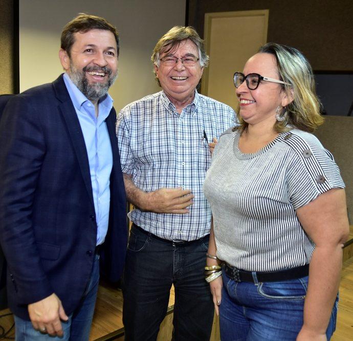 Elcio Batista, César Barreira, Danyelle Nilin