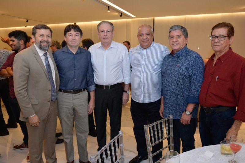 Duplo Brinde - Ricardo Cavalcante e Edgar Gadelha são homenageados na Fiec