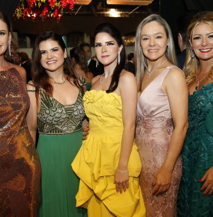 Elen Araujo, Ticiana Brigido, Marilia Vasconcelos, Erica Lima E Tatiana Luna