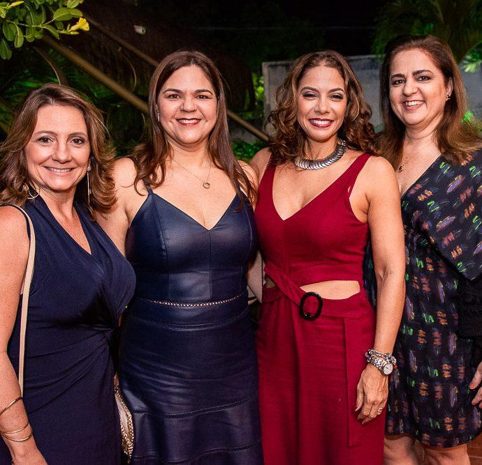 Elen Benevides, Joyce De Castro, Daniele Filgueiras E Jeritza Fontenele