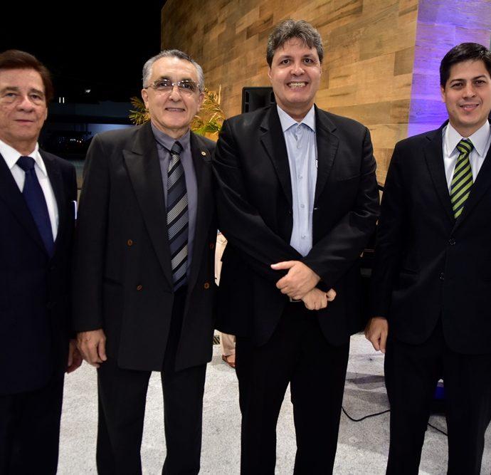 Elias Carmo, Alberto, Daniel Furlani, Marcos Oliveira