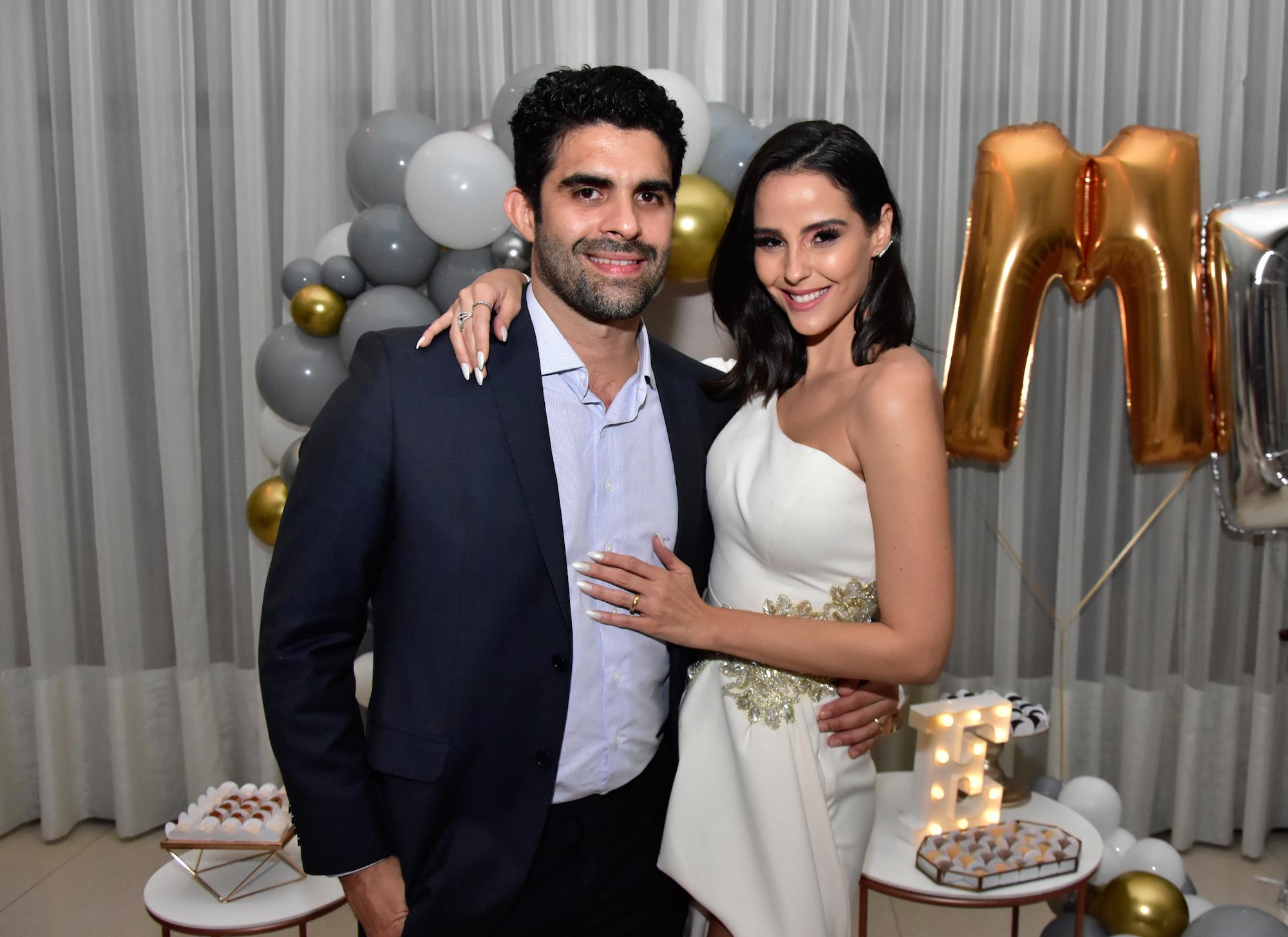 Hotel Gran Marquise serve de cenário para a troca de alianças de Mariana Vasconcelos e Eliseu Becco