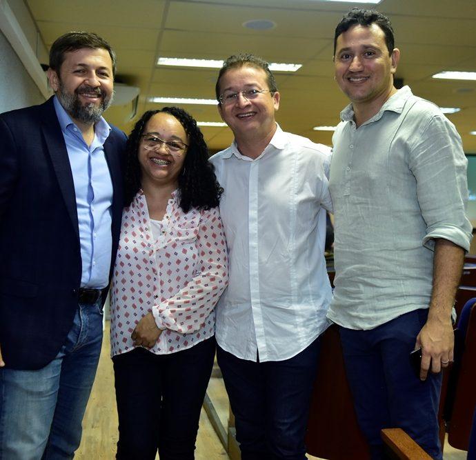 Ellcio Batista, Ana Cristina, Eulogio Neto, Mardônio Barros