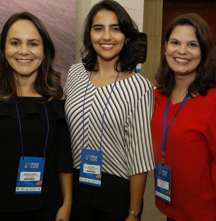 Emanuela Franca, Livia Prata E Erika Mavignier