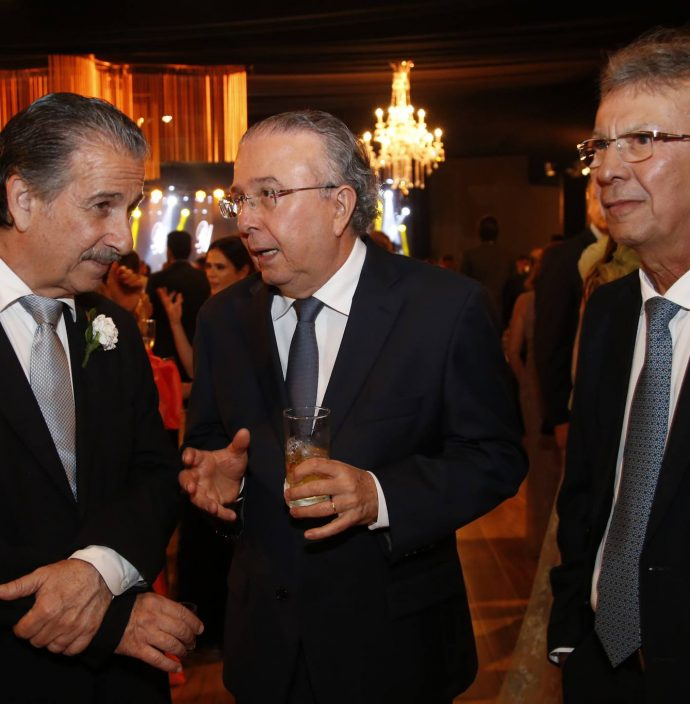 Emilio Ary, Antonio Jose Mello E Julio Militao