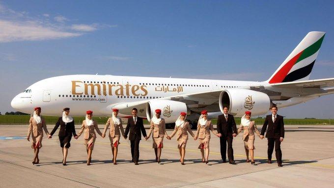 Emirates em clima de Natal
