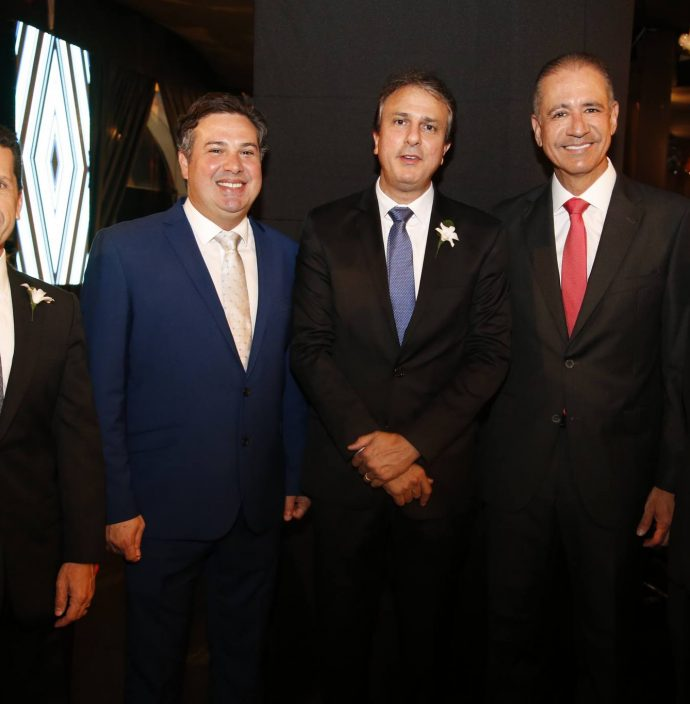 Erick Vasconcelos, Samuel Dias, Camilo Santana, Regis Medeiros E Darlan Leite