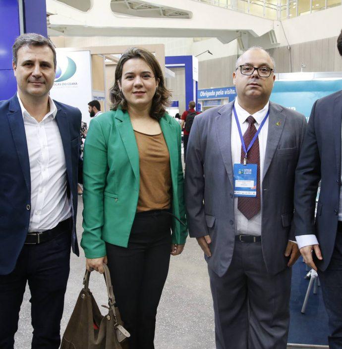 Esmeraldo Batista, Eliana Costa, Carlos Alberto Nunes E Raphael Boris