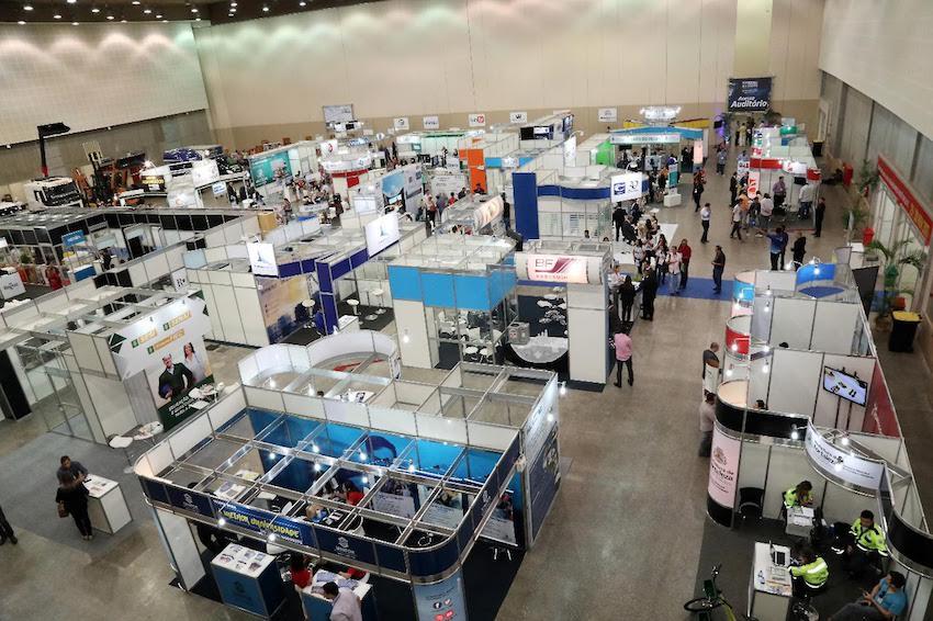 Fortaleza sedia Congresso Eventos Brasil e Brasil Expo no CEC