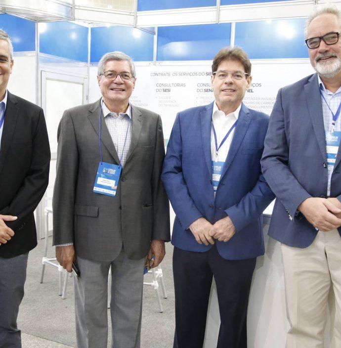 Fabio Abreu, Mario Lima, Marcos Albuquerque E Cornelius Hulst