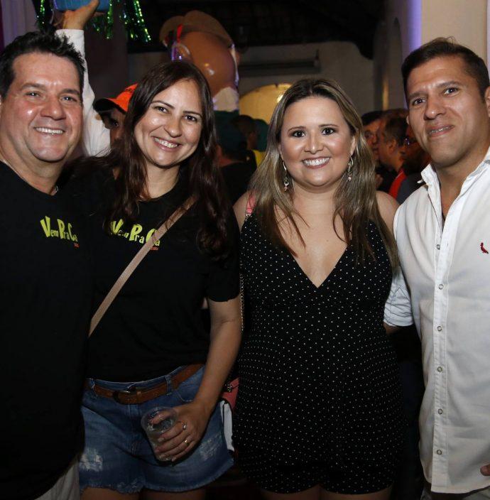 Fabio Junior, Camila Nobre, Camila E Denis Santos