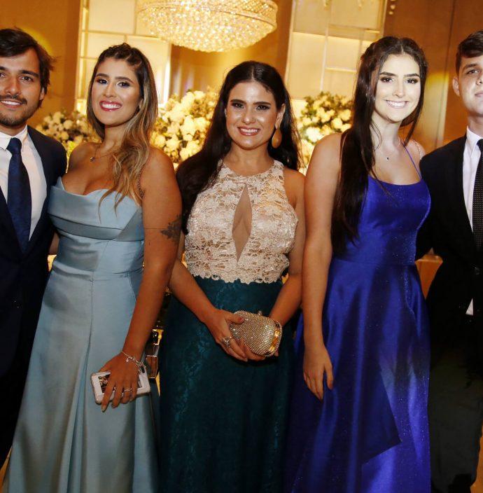 Felipe Rangel, Victoria Araujo, Eveline Andrade, Livia Araujo E Guilherme Ximenes