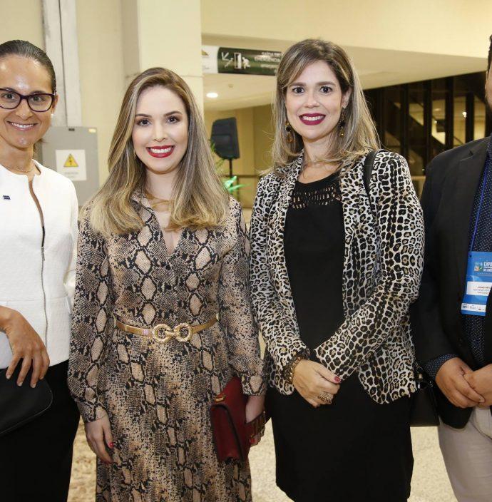 Fernanda Barreira, Lucinha Feitosa, Amanda Machado E Jonas Vieira