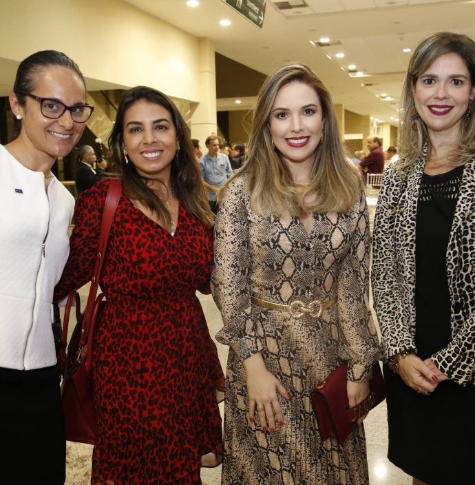 Fernanda Barreira, Nicole Goulart, Lucinha Feitosa E Amanda Machado