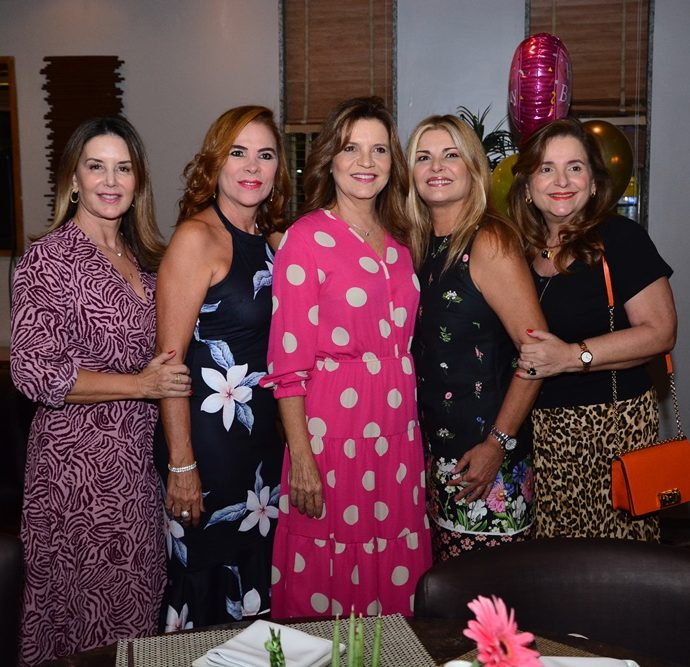 Fernanda Mattoso, Jane Juaçaba, Geni Correia Lima, Cristiane Lima E Heloisa Diogo De Holanda