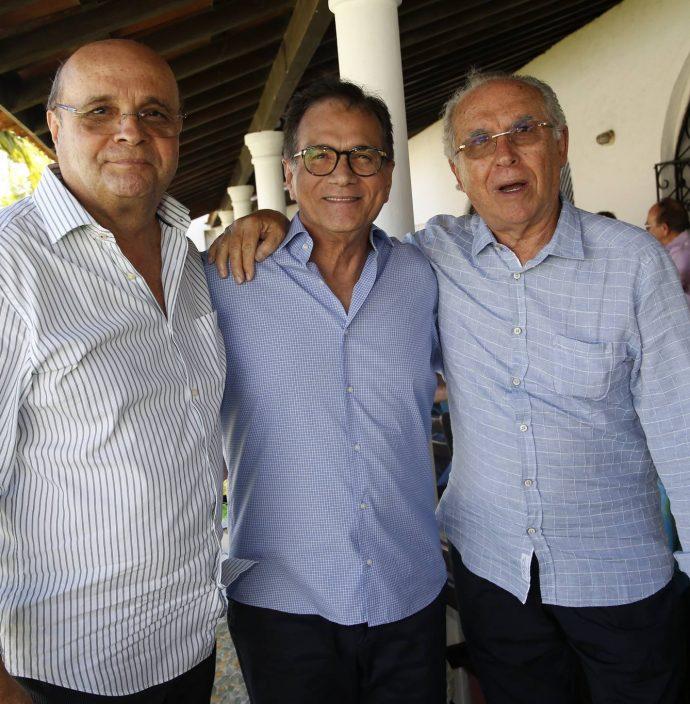 Fernando Cirino, Beto Studart E Antenos Barros Leal